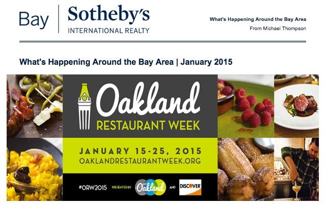 January 2015 BaySIR What's Happening Around the Bay