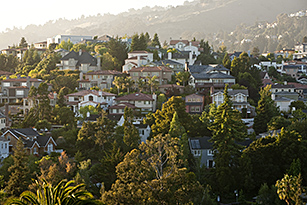 Upper Rockridge Homes in the Oakland Hills, California